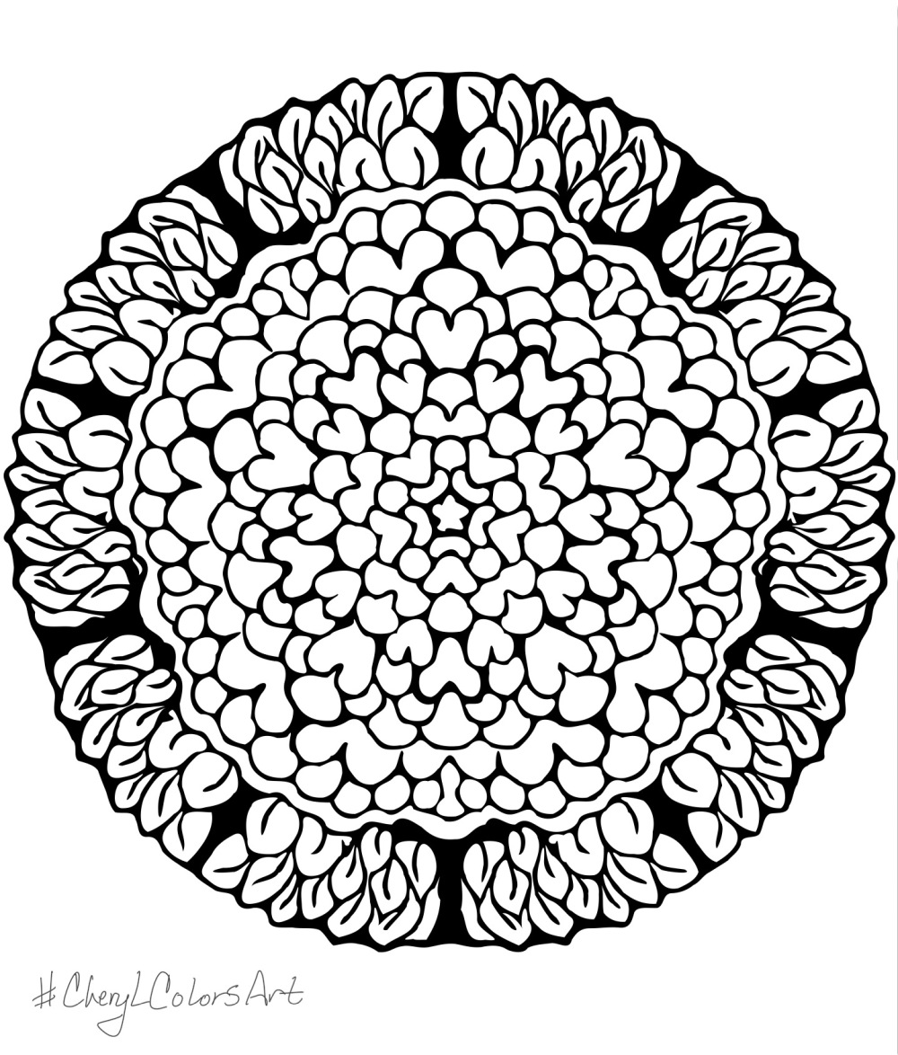 Free Coloring Pages Mandala Fun